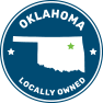 oklahoma locally owned logo